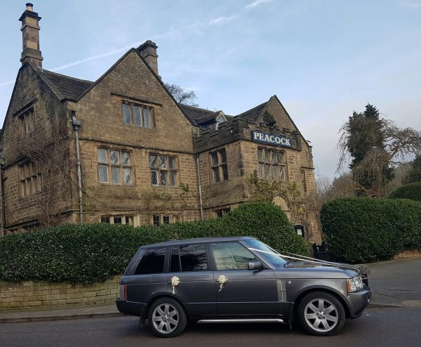 derby range rover vogue wedding car hire