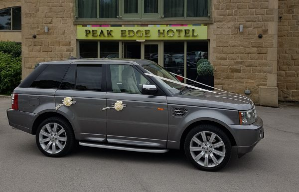 range rover sport supercharged v8 wedding car hire