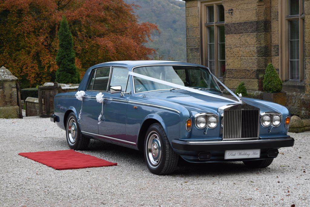 wedding car hire chesterfield