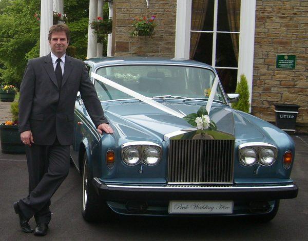 andrew pearce owner of peak wedding hire