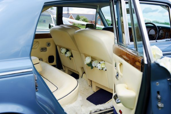 chesterfield rolls royce silver shadow wedding car hire