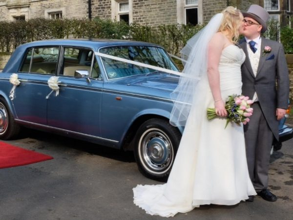 wedding car for sophie jolley