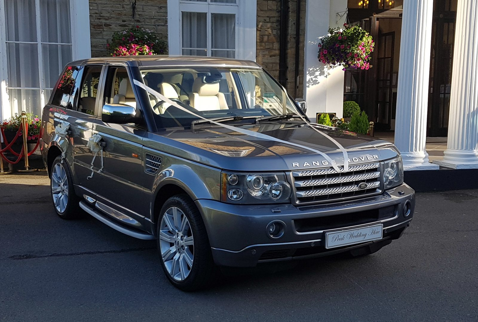 range rover sport wedding car hire