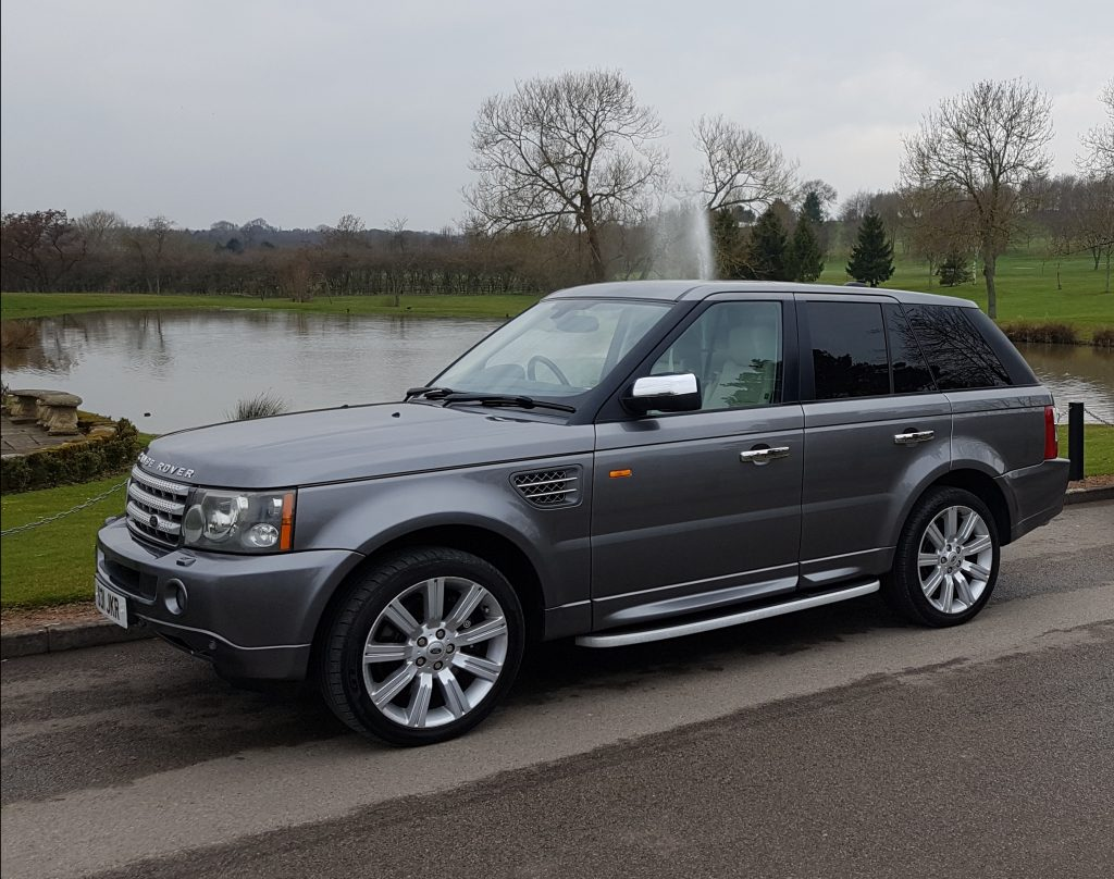 range rover sport supercharged v8 wedding car for hire